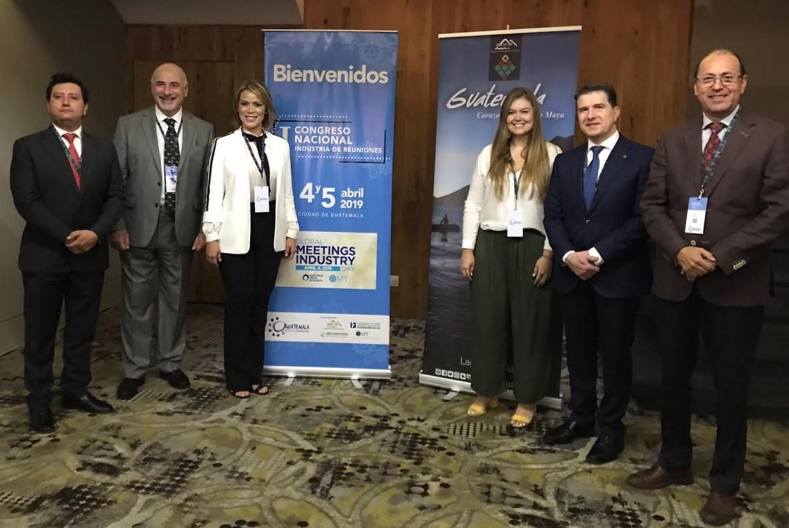 Medellín, presente en el Primer Congreso Nacional de la Industria de Reuniones en Guatemala