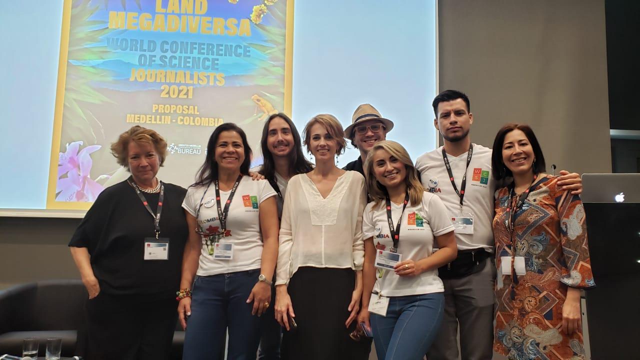 Medellín será la sede de la Conferencia Mundial de Periodistas Científicos en el 2021