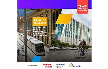 Con apoyo de la Alcaldía de Medellín, empresarios de turismo lograron $1.410 millones en expectativas de negocios durante la feria virtual Travel Fest